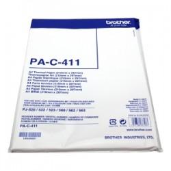 BROTHER CARTA BIANCO PA-C-411 PAC411 CARTA TERMICA  DIN A4, 100 FOGLI ORIGINALE