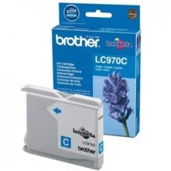 BROTHER CARTUCCIA D\'INCHIOSTRO CIANO LC970C LC-970 300 COPIE  ORIGINALE