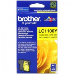 BROTHER CARTUCCIA D\'INCHIOSTRO GIALLO LC1100Y LC-1100 325 COPIE  ORIGINALE