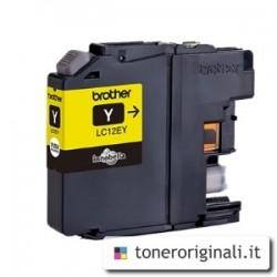 BROTHER CARTUCCIA D\'INCHIOSTRO GIALLO LC12EY LC-12E 1200 COPIE  ORIGINALE