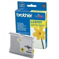 BROTHER CARTUCCIA D\'INCHIOSTRO GIALLO LC970Y LC-970 300 COPIE  ORIGINALE