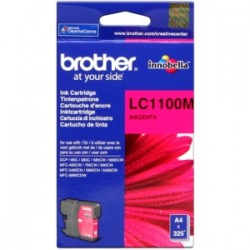 BROTHER CARTUCCIA D\'INCHIOSTRO MAGENTA LC1100M LC-1100 325 COPIE  ORIGINALE