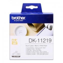 BROTHER ETICHETTE  DK-11219  ETICHETTE, Ø 12 MM, 1200 PEZZI / RUOLO ORIGINALE