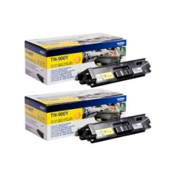BROTHER MULTIPACK GIALLO TN-900YTWIN  2 TONER TN-900Y A 6000 PAGINE