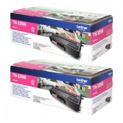 BROTHER MULTIPACK MAGENTA TN-329MTWIN