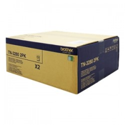 BROTHER MULTIPACK NERO TN-3280TWIN  DOUBLE PACK 8.000 PAGINE ORIGINALE
