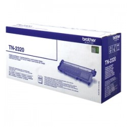 BROTHER TONER NERO TN-2320  2600 COPIE  ORIGINALE