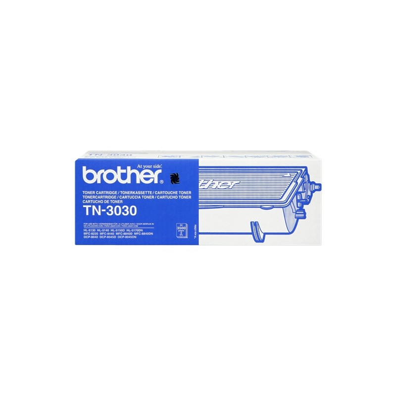 BROTHER TONER NERO TN-3030  3500 COPIE  ORIGINALE
