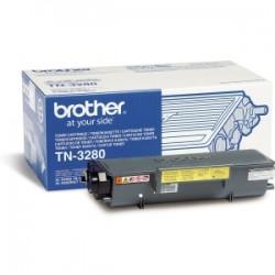 BROTHER TONER NERO TN-3280  8000 COPIE  ORIGINALE