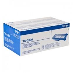 BROTHER TONER NERO TN-3390  12000 COPIE  ORIGINALE