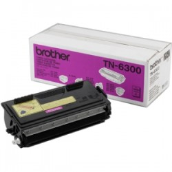 BROTHER TONER NERO TN-6300  3000 COPIE  ORIGINALE