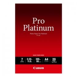 CANON CARTA BIANCO PT-101 10X15 2768B013 CARTA FOTOGRAFICA, 10 X 15 CM, 300 G/M², 20 FOGLI, PRO PLATINUM ORIGINALE