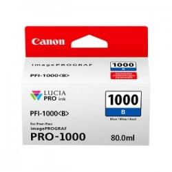 CANON CARTUCCIA D\'INCHIOSTRO BLU PFI-1000B 0555C001 80ML  ORIGINALE