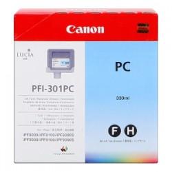 CANON CARTUCCIA D\'INCHIOSTRO CIANO (FOTO) PFI-301PC 1490B001 330ML  ORIGINALE