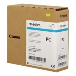 CANON CARTUCCIA D\'INCHIOSTRO CIANO (FOTO) PFI-306PC 6661B001 330ML  ORIGINALE