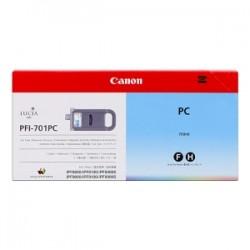 CANON CARTUCCIA D\'INCHIOSTRO CIANO (FOTO) PFI-701PC 0904B001 700ML  ORIGINALE