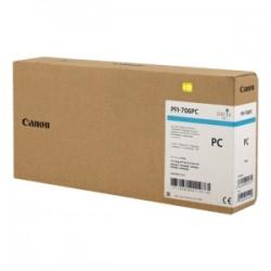 CANON CARTUCCIA D\'INCHIOSTRO CIANO (FOTO) PFI-706PC 6685B001 700ML  ORIGINALE