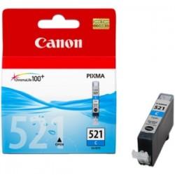 CANON CARTUCCIA D\'INCHIOSTRO CIANO CLI-521C 2934B001 9ML  ORIGINALE