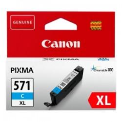 CANON CARTUCCIA D\'INCHIOSTRO CIANO CLI-571C XL 0332C001 11ML XL ORIGINALE