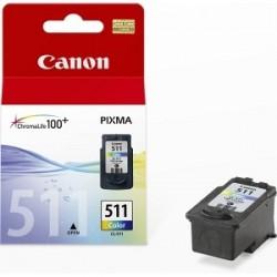 CANON CARTUCCIA D\'INCHIOSTRO COLORE CL-511 2972B001 9ML  ORIGINALE