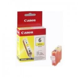 CANON CARTUCCIA D\'INCHIOSTRO GIALLO BCI-6Y 4708A002 13ML  ORIGINALE