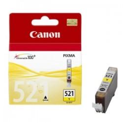 CANON CARTUCCIA D\'INCHIOSTRO GIALLO CLI-521Y 2936B001 9ML  ORIGINALE
