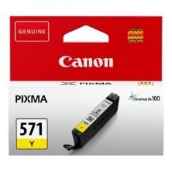 CANON CARTUCCIA D\'INCHIOSTRO GIALLO CLI-571Y 0388C001 6.5ML  ORIGINALE