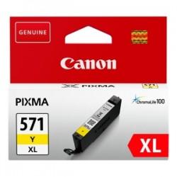 CANON CARTUCCIA D\'INCHIOSTRO GIALLO CLI-571Y XL 0334C001 11ML XL ORIGINALE
