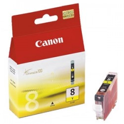 CANON CARTUCCIA D\'INCHIOSTRO GIALLO CLI-8Y 0623B001 13ML  ORIGINALE