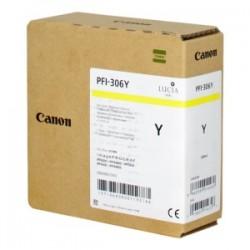 CANON CARTUCCIA D\'INCHIOSTRO GIALLO PFI-306Y 6660B001 330ML  ORIGINALE