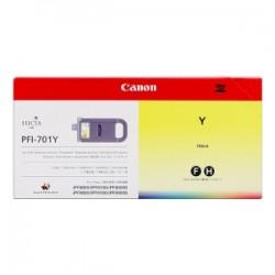 CANON CARTUCCIA D\'INCHIOSTRO GIALLO PFI-701Y 0903B001 700ML  ORIGINALE