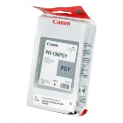 CANON CARTUCCIA D\'INCHIOSTRO GRIGGIO (FOTO) PFI-106PGY 6631B001 130ML  ORIGINALE