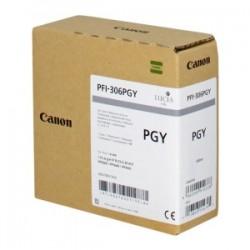 CANON CARTUCCIA D\'INCHIOSTRO GRIGGIO (FOTO) PFI-306PGY 6667B001 330ML  ORIGINALE