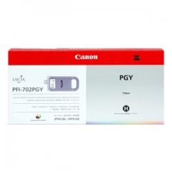 CANON CARTUCCIA D\'INCHIOSTRO GRIGIO (FOTO) PFI-702PGY 2222B001 700ML