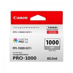 CANON CARTUCCIA D\'INCHIOSTRO GRIGIO PFI-1000GY 0552C001 80ML  ORIGINALE