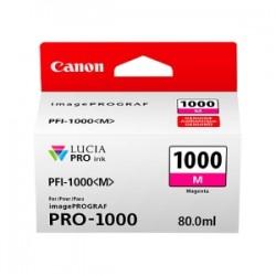 CANON CARTUCCIA D\'INCHIOSTRO MAGENTA PFI-1000M 0548C001 80ML  ORIGINALE