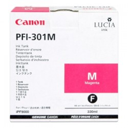 CANON CARTUCCIA D\'INCHIOSTRO MAGENTA PFI-301M 1488B001 330ML