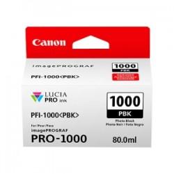 CANON CARTUCCIA D\'INCHIOSTRO NERO (FOTO) PFI-1000PBK 0546C001 80ML  ORIGINALE
