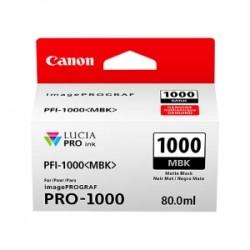 CANON CARTUCCIA D\'INCHIOSTRO NERO (OPACO) PFI-1000MBK 0545C001 80ML  ORIGINALE