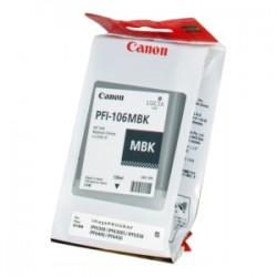 CANON CARTUCCIA D\'INCHIOSTRO NERO (OPACO) PFI-106MBK 6620B001 130ML  ORIGINALE