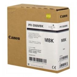CANON CARTUCCIA D\'INCHIOSTRO NERO (OPACO) PFI-306MBK 6656B001 330ML  ORIGINALE