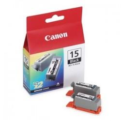 CANON CARTUCCIA D\'INCHIOSTRO NERO BCI-15BK 8190A002 NASTRO TRASFERIMENTO TERMICO ORIGINALE