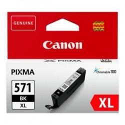 CANON CARTUCCIA D\'INCHIOSTRO NERO CLI-571BK XL 0331C001 11ML XL ORIGINALE