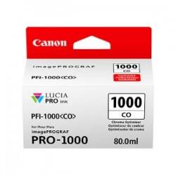 CANON CARTUCCIA D\'INCHIOSTRO TRASPARENTE PFI-1000CO 0556C001 80ML CHROMA OPTIMIZER ORIGINALE