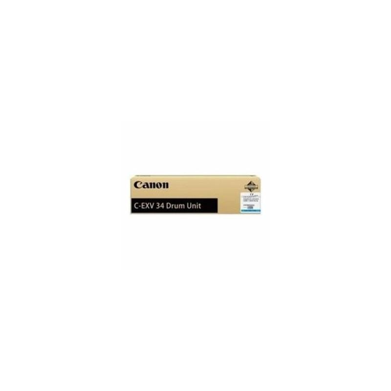 CANON TAMBURO CIANO C-EXV34DRUMC 3787B003 36000 COPIE  ORIGINALE