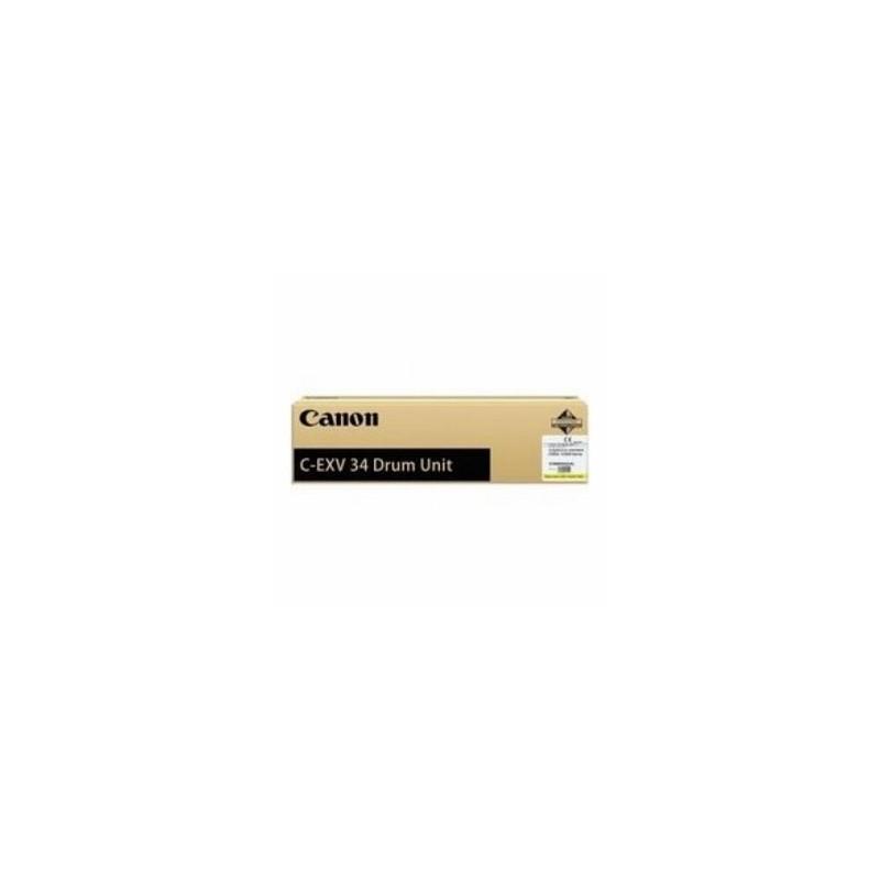 CANON TAMBURO GIALLO C-EXV34DRUMY 3789B003 36000 COPIE  ORIGINALE