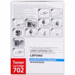 CANON TONER CIANO 702C 9644A004 ~6000 COPIE