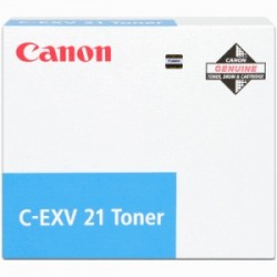 CANON TONER CIANO C-EXV21C 0453B002 14000 COPIE  ORIGINALE