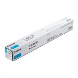 CANON TONER CIANO C-EXV51C 0482C002 60000 COPIE  ORIGINALE