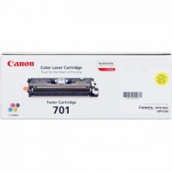 CANON TONER GIALLO 701Y 9284A003 ~4000 COPIE
